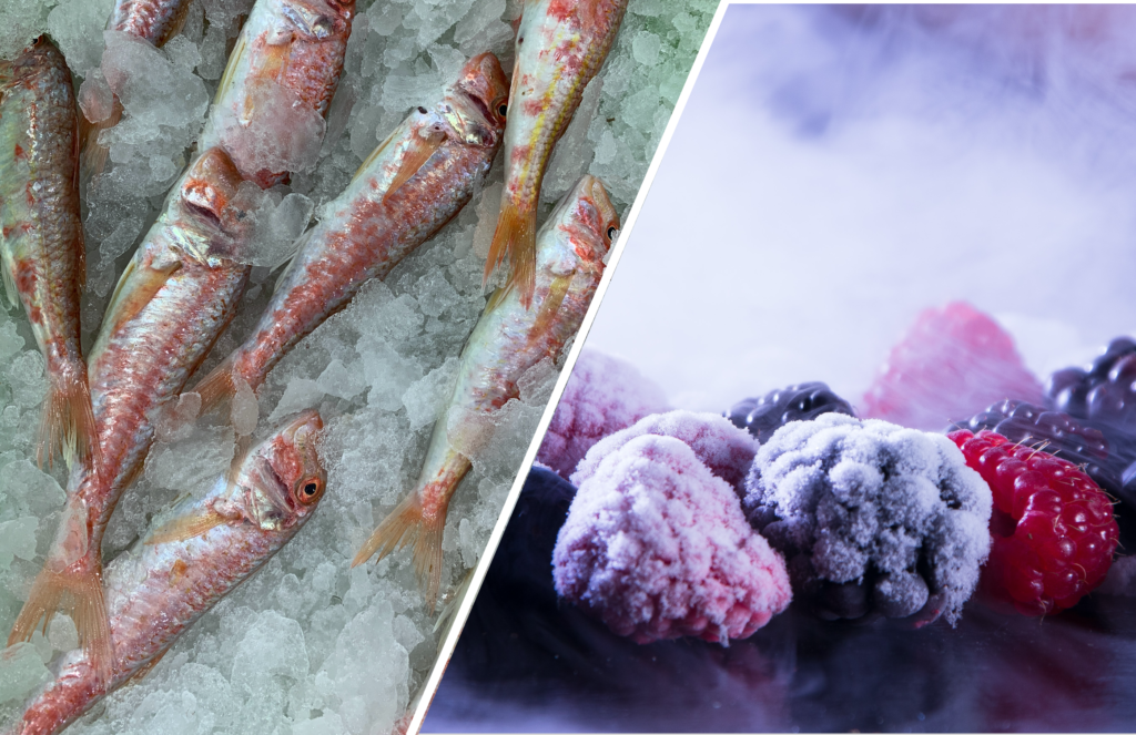 Industrial Refrigeration | Cold storage warehouse or food processing plant, Frozen Fish and Frozen berries | Polar Engineering |
