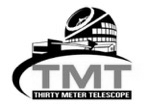 Thirty Meter Telescope logo for Polar Engineering